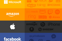 Apple, Facebook, Google, Microsoft, Twitter, Amazon : qui possède quoi ?