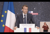 Emmanuel Macron alloue 1,5 milliard d'euros pour développer l'intelligence artificielle en France