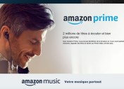 Amazon Prime : le streaming musical arrive gratuitement dans l'abonnement