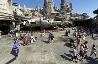 On a visité Galaxy's Edge, la zone Star Wars du parc Disney de Californie