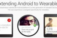 Android Wear : la version Android pour accessoires intelligents