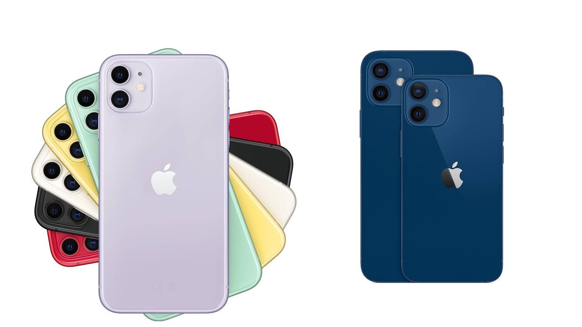 iPhone 11 versus iPhone 12 : quelles différences entre les deux ...