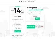 Le forfait mobile 100 Go de RED by SFR conserve son petit prix du Black Friday